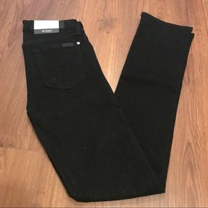 NWT 7 for all mankind Kimmie Straight leg jeans 25